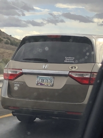 Saw this while driving in Arizona