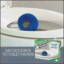 Say goodbye to costly toilet paper