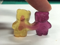Scary as fuck gummy bear
