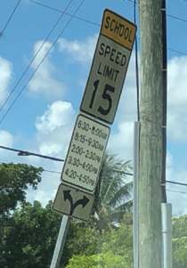 School zone times are getting a bit out of hand