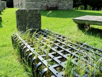 Scottish mortsafe an th century defense against zombies