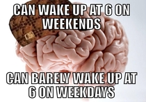 Scumbag brain This happen to anyone else