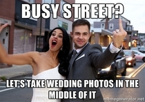 Scumbag Bride and Groom