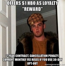 Scumbag Comcast although I expected something like this