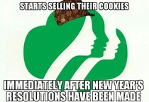 Scumbag Girl Scouts