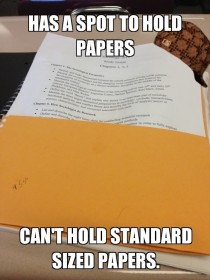 Scumbag notebook