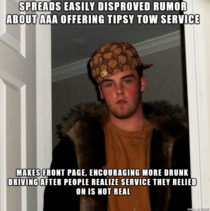 Scumbag redditor Made Front Page by spreading AAA Lie