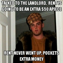 Scumbag roommate went two years without finding out
