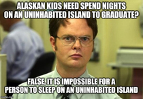 Seeing yet again the story about the graduation requirements for Ketchikan Alaska schools