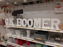 Seen at Joann today