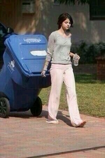 Selena Gomez taking her music for a walk