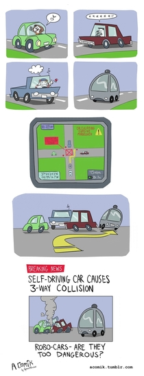 Self-Driving Car xpost rcomics