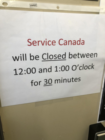 Service Canadaconfusing Canadians since ummwell forever I literally stood staring at the door trying to figure this riddle out for  minutes