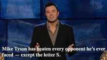 SETH MACFARLANE on Mike Tyson at the Charlie Sheen Roast