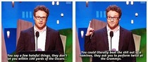 Seth Rogen figured it out