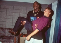 Shaq holding  billion dollars