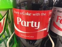 Share a coke and