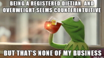 She also seemed really clueless on new research on nutrition