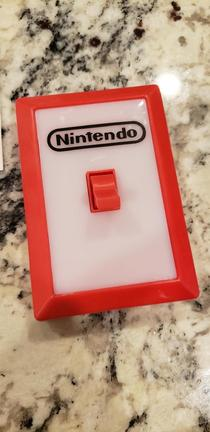 She asked for a Nintendo Switch for Christmas - made her the Dad joke edition Think shell notice the difference