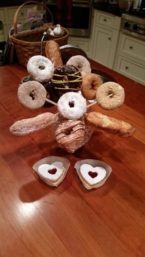 She loved the dozen long-stem donuts I married the right woman OC