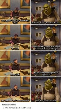 Shrek in a nutshell