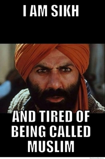 Sikh and tired