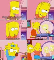Simpsons hair