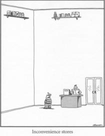 Since someone brought up The Far Side this is one of my favorites