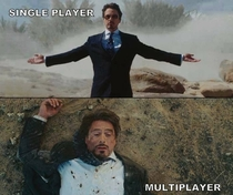 Single Player and Multiplayer