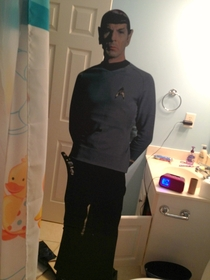 Sister snuck this into my bathroom while I was in the shower Never been so scared in my life