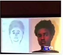 Sketch that led to his arrest