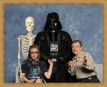 Skywalker Family Portrait w mom