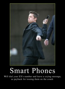 Smart phones - demotivational
