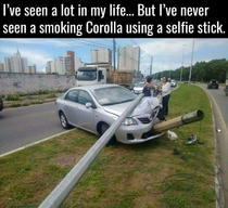 Smoking corolla