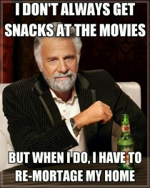 Snacks at the movies