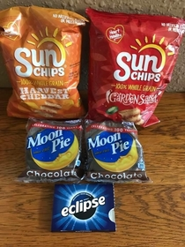 Snacks for the eclipse