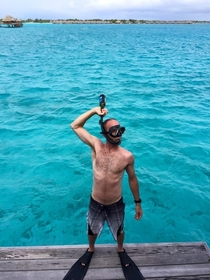 Snorkelbeer bong Proud if my husbands ingenuity