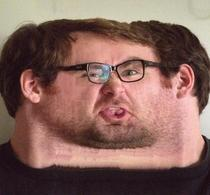 So apparently you can unwrap your face using your phones panoramic mode