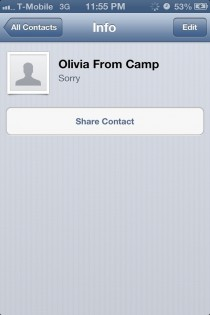 So I Asked for a girls number in a camp Im at and this is what she typed