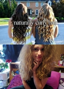So I have REAL naturally curly hair