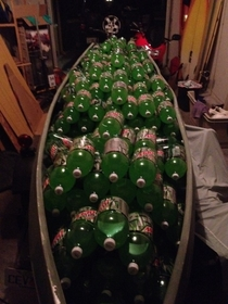 So I literally bought a boatload of Mountain Dew tonight