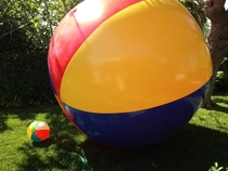 So I recently purchased the worlds largest beach ball I have no idea what to do with it Suggestions