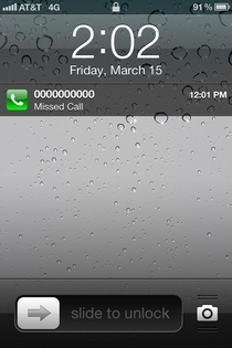 So I think I missed a call from Alexander Graham Bell a few months back
