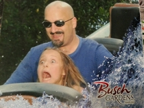 So I took my daughter for her st trip to an amusement park today