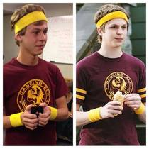 So I was told I look like Michael Cera