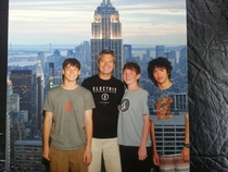 So I wore my green shirt to the Empire State Building