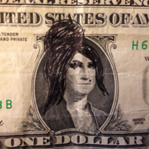 So if you draw Amy Winehouses hair on George Washington he looks like Snooki