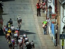 So Im watching the Tour de France and this happened live