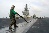 So is a rubber gasket on a aircraft carrier considered a Navy seal