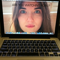 So My girlfriend left me a nice new background